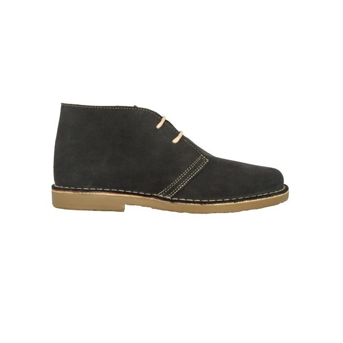 grey desert boots