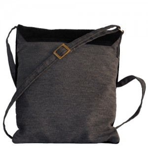 Black shoulder bag for women
