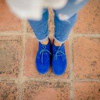 Ботинки  Ярко-синие  Женские