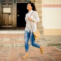 Ботинки женские песочные