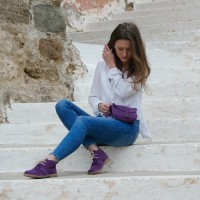 Bolso Queen color morado