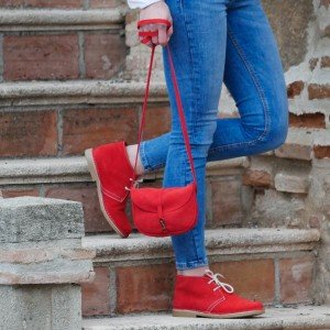 Bolso Queen color rojo
