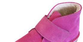 Children Sheepskin Desert Boots. Comfortable and durable boots.