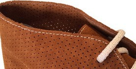Mens Perforated Desert Boots and Chukka Boots