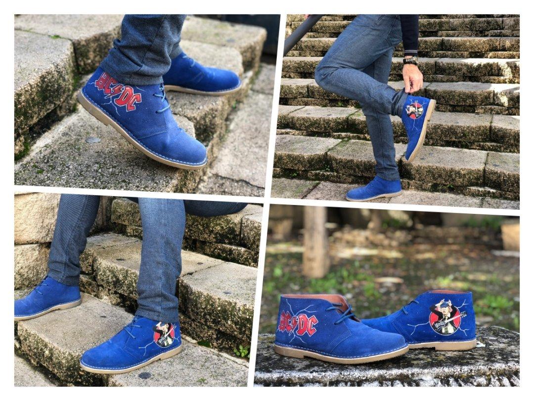 botas pintadas