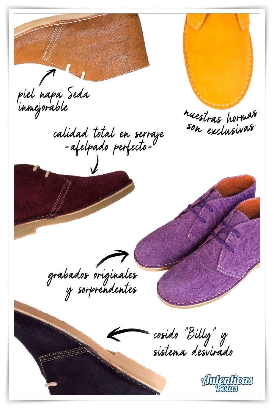 diferencia autenticas botas