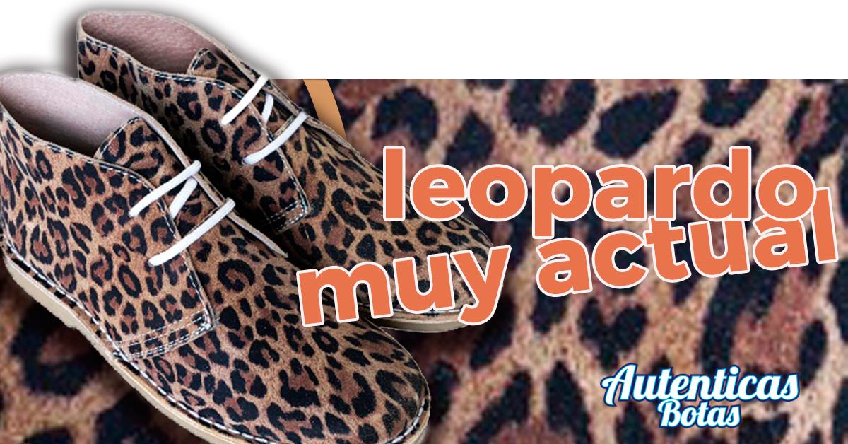 pisacacas de leopardo