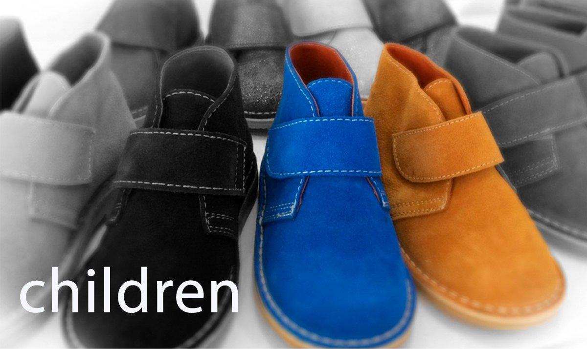 children desert boots