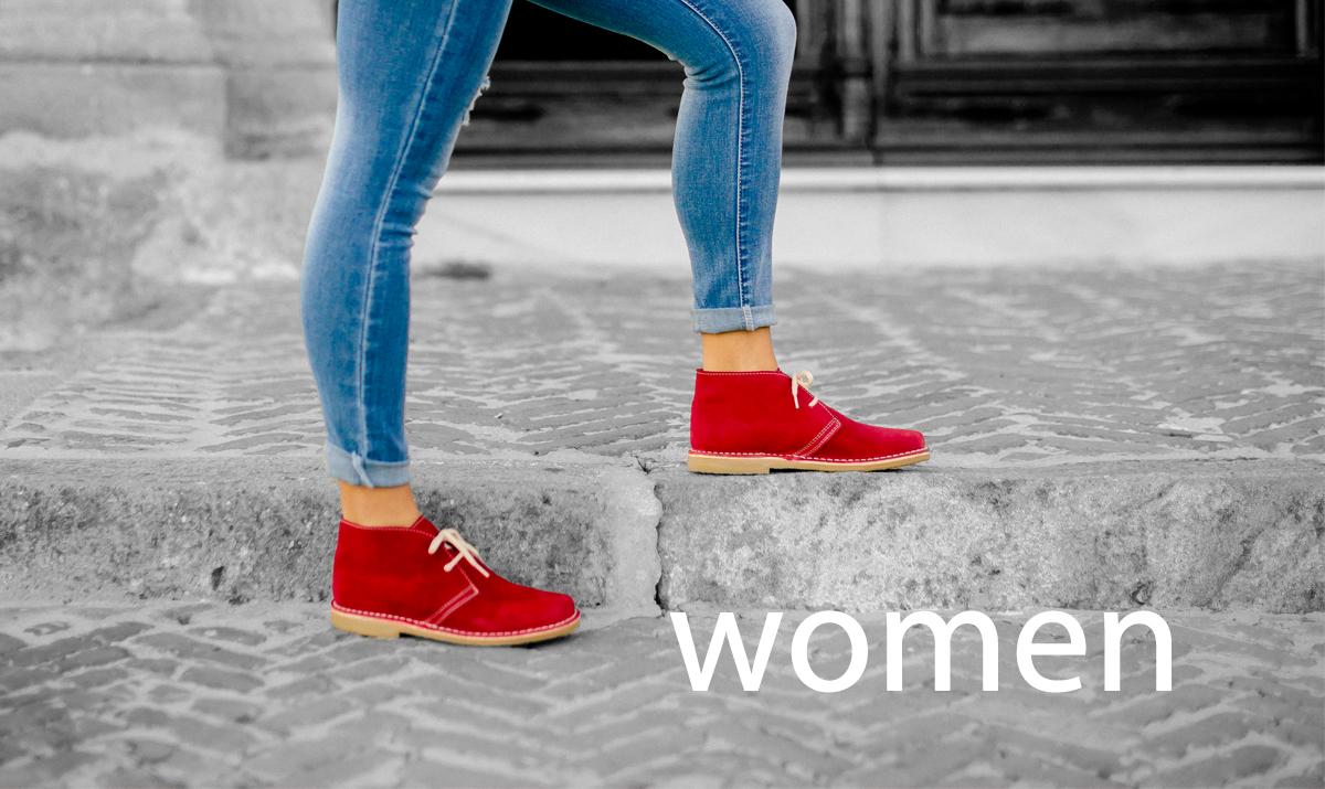 women desert boots
