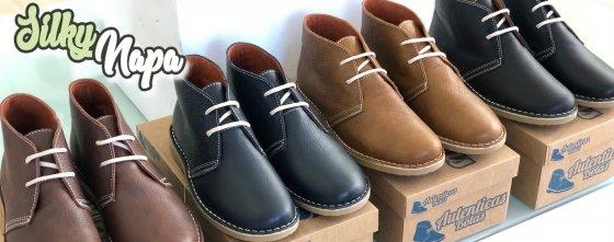 nappa desert boots